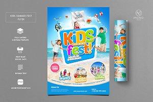Kids Summer Fest Flyer