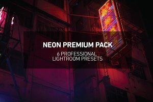 6 Lightroom NEON Presets