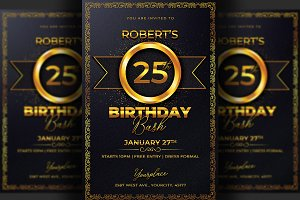 Birthday Flyer Invitation
