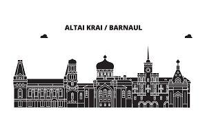 Russia, Altai Krai, Barnaul. City