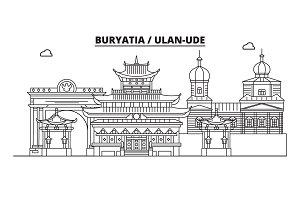 Russia, Buryatia, Ulan-Ude. City