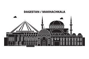 Russia, Dagestan, Makhachkala. City