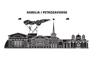 Russia, Karelia, Petrozavodsk. City