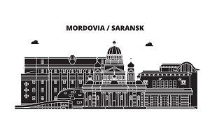 Russia, Mordovia, Saransk. City