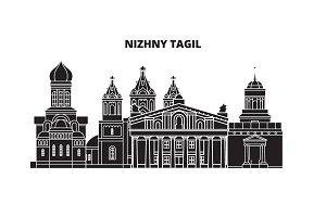 Russia, Nizhny Tagil. City skyline