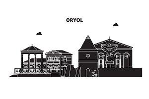 Russia, Oryol. City skyline