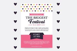 Valentines Flayer Event