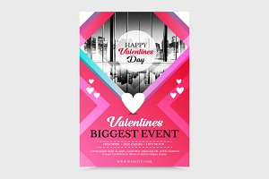 Valentines Flayer Event
