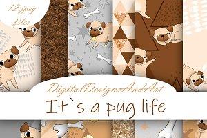 Pug digital paper