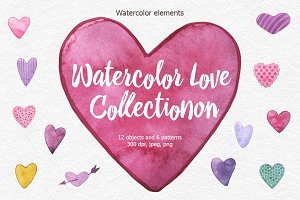 Watercolor Love Collection