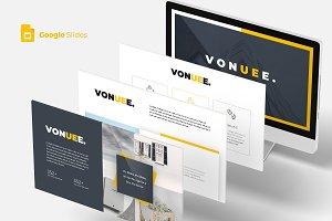 Vonue -  Google Slides Template