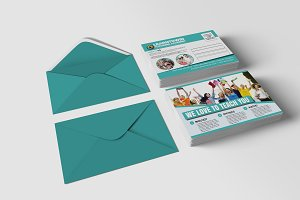 Tutoring Academy Promotion PostCard
