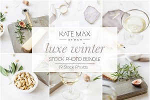 Luxe Winter Styled Stock Photo Bundl