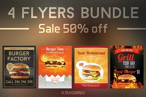 Burger Flyers Bundle