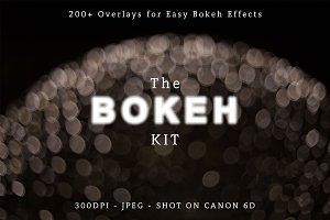 Bokeh Photo Overlays