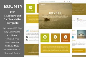 Bounty - Multiporpuse email template