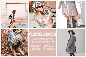 Editorial Lifestyle Mobile Presets