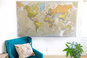 Map on the Wall