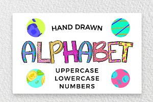 Hand Drawn Letter Bundle