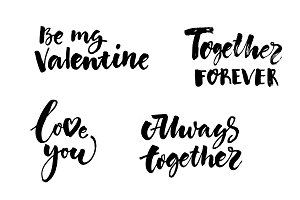 Love And Valentines Day Inscriptions