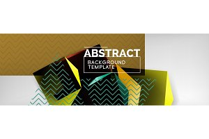 Minimalistic geometric abstract