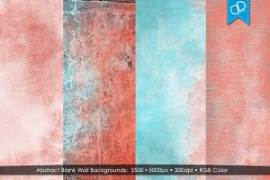 Abstract Living Coral Wall Textures