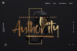Authority Font