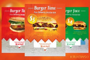 Burger Fast Food Flyer