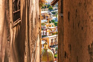 Streets of Positano / Italy