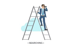 Searching Man and Ladder Vector