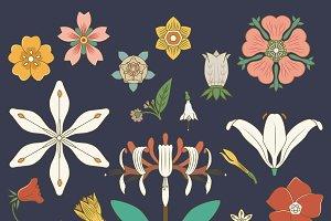 Vintage floral prints inspired