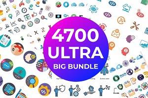 4700 Ultra Big Bundle Icons