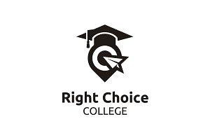 School University Graduation Logo