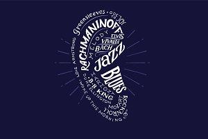 Music Conceptual Logo