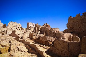 Ruins of the Amun Oracle temple, Siw