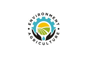 Environment Agriculture Badge Logo