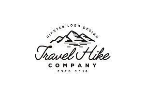 Retro Mountain Adventure logo