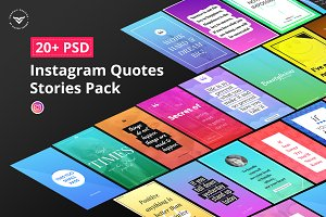 Instagram Quotes Stories Pack