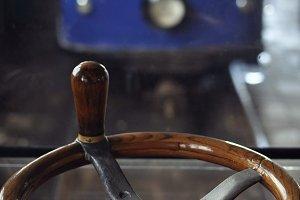 Tram control wheel