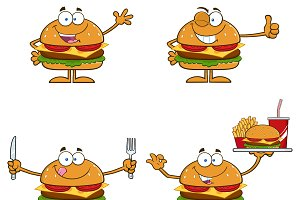 Hamburger Character Collection - 1