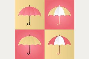 4 Bright Umbrellas, Vol 1