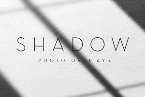Window Frame Shadow Photo Overlays