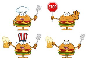 Hamburger Character Collection - 4