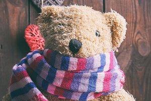 brown soft teddy bear