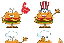 Hamburger Character Collection - 3