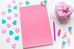 letter for valentine's day