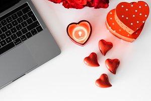 Valentine's Day Vertical Photo Text
