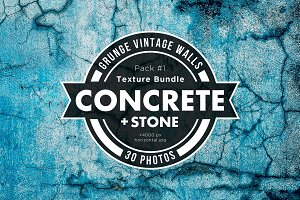 Grunge concrete Texture Pack 01