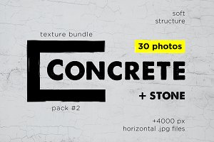 Сoncrete Stone Texture Pack 02