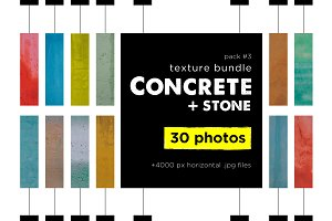 Colorful Сoncrete Stone Texture Pack